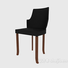 无扶手家居椅3d模型下载