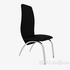 高背扶手休闲椅3d模型下载