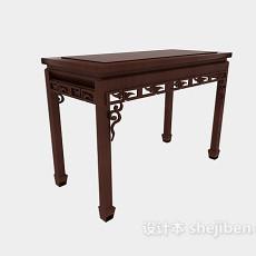 中式家具3d模型下载