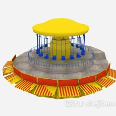 旋转木马3d模型下载