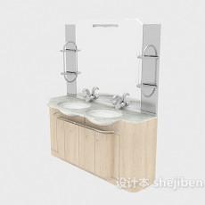 酒店浴柜3d模型下载