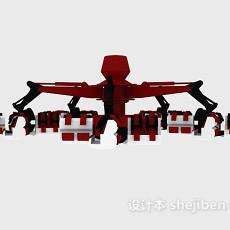 机器人玩具3d模型下载