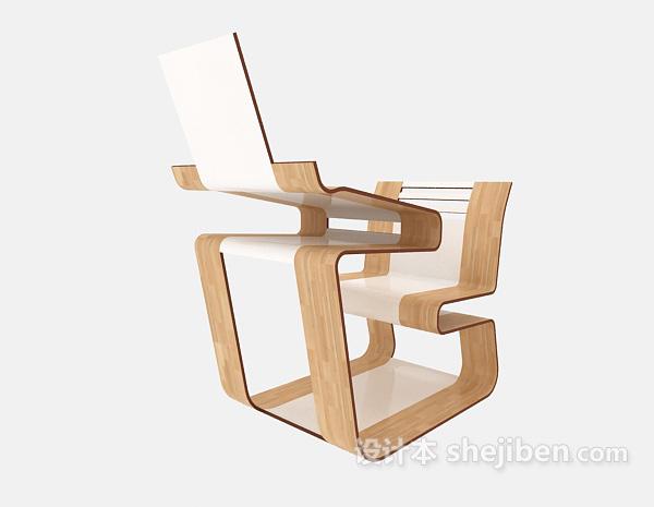 创意一体式桌椅组合