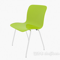 塑料椅3d模型下载
