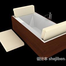 浴缸推荐3d模型下载