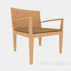 简约家庭休闲椅3d模型下载
