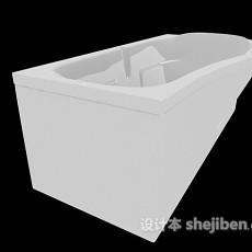 卫浴浴缸3d模型下载