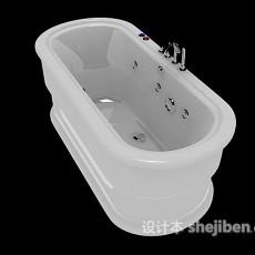 家居按摩浴缸3d模型下载