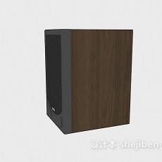 小型家具音箱3d模型下载