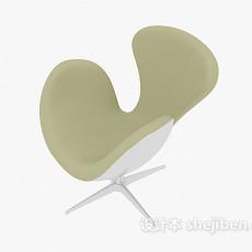 休闲简易天鹅椅3d模型下载