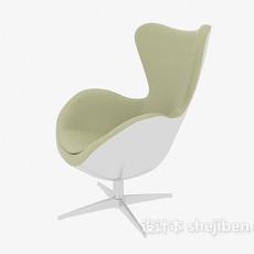现代天鹅椅3d模型下载