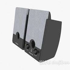 成对音箱3d模型下载