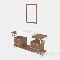 家居浴柜3d模型下载