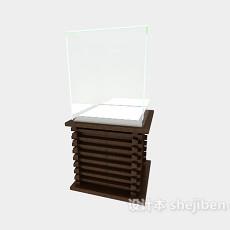 浴室卫浴镜3d模型下载