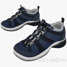 男士休闲鞋3d模型下载