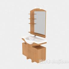 浴镜3d模型下载