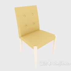 现代无扶手家居椅3d模型下载