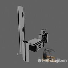 音箱组合3d模型下载