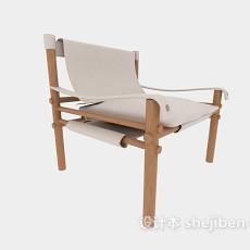 简约家居休闲椅子3d模型下载