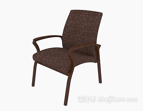 现代木质休闲椅