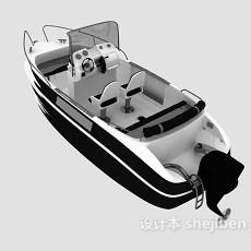 游艇交通设施3d模型下载