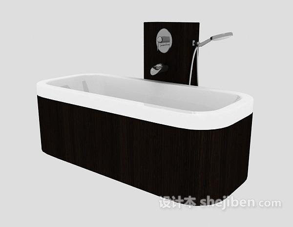 浴缸模型下载