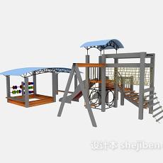 儿童玩耍设施3d模型下载