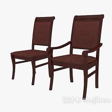 简欧风格椅子3d模型下载