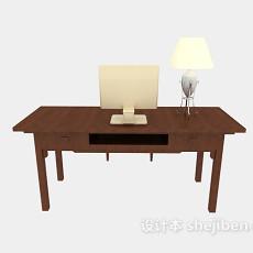 家居办公桌3d模型下载