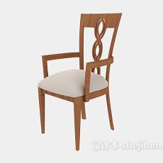 田园风格休闲椅3d模型下载