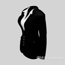 女式西装3d模型下载