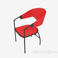 塑料办公洽谈椅3d模型下载