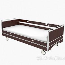 移动病床3d模型下载