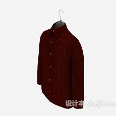 红色长袖3d模型下载