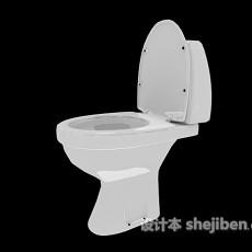 抽水马桶3d模型下载
