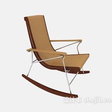 家居摇椅3d模型下载