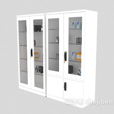 医院柜子3d模型下载