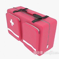 医疗箱3d模型下载