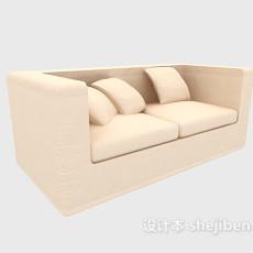 客厅双人沙发3d模型下载