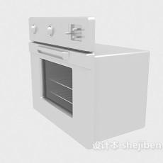 家电微波炉3d模型下载