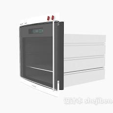 精细微波炉3d模型下载