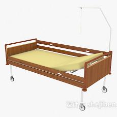 可移动升降病床3d模型下载