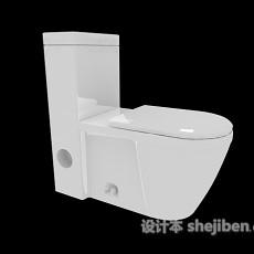 家居坐便器3d模型下载