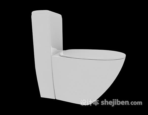 浴室冲水马桶