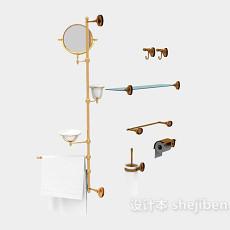欧式精美卫浴小件3d模型下载