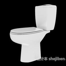 家居浴室坐便器3d模型下载
