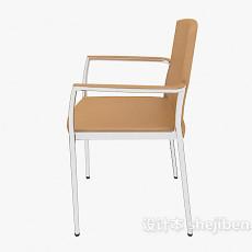 现代休闲扶手椅3d模型下载