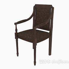 东南亚扶手家居椅3d模型下载
