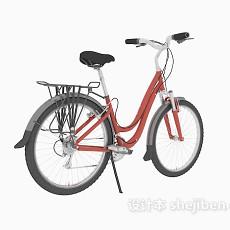 脚踏车3d模型下载