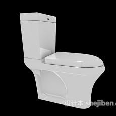 冲水马桶3d模型下载